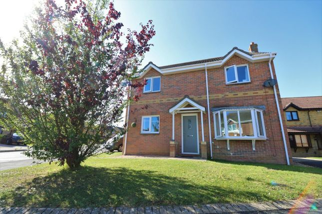 Thumbnail 3 bed detached house for sale in Fieldfare Road, Newport
