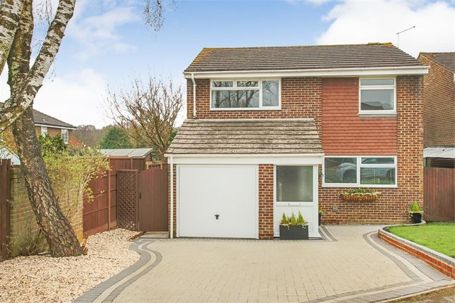 Thumbnail Detached house for sale in Tiltwood Drive, Crawley Down, West Sussex