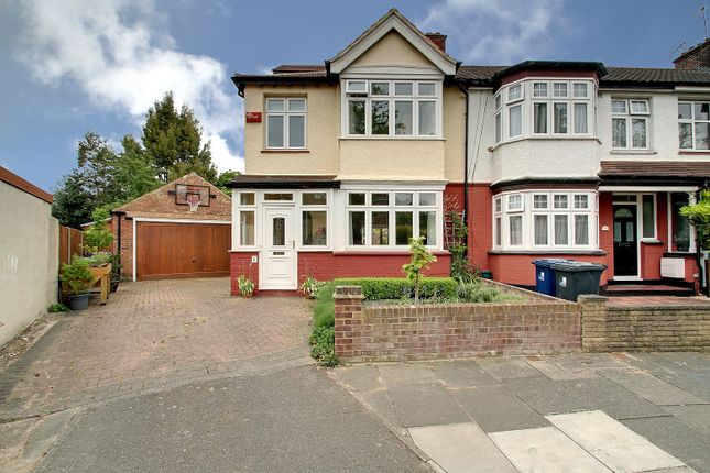 Thumbnail End terrace house for sale in Croft Gardens, London