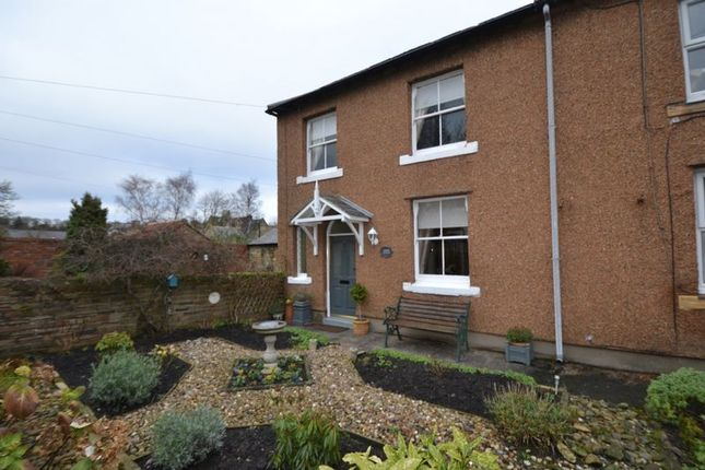 2 bed semi-detached house for sale in The Butts, Warkworth, Morpeth