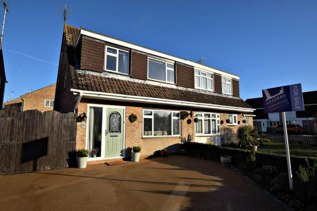 Thumbnail Semi-detached house for sale in Pondholton Drive, Witham