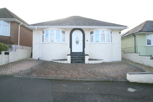 Thumbnail Detached bungalow for sale in Gower Ridge Road, Plymstock, Plymouth