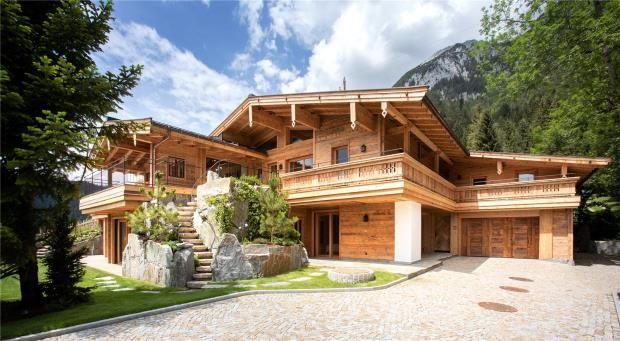 Thumbnail Property for sale in Chalet, Scheffau Am Wilden Kaiser, Tirol, Austria