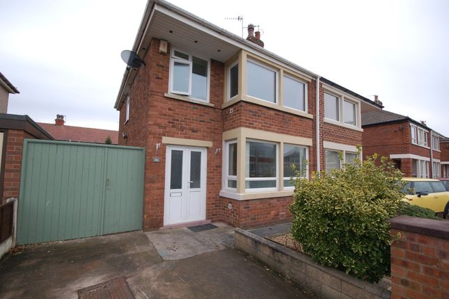 Thumbnail Semi-detached house for sale in Stadium Avenue, Blackpool