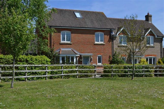 Thumbnail Semi-detached house for sale in Middle Farm Close, Chieveley, Newbury, Berkshire