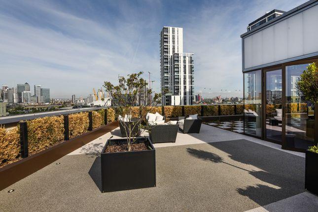 Roof Terrace 2 of The Fulmar, 21 Reminder Lane, Lower Riverside, Greenwich Peninsula SE10