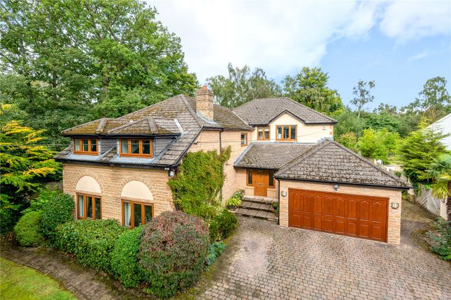 Thumbnail Detached house for sale in Three Oaks, Ling Lane, Scarcroft, Leeds, West Yorkshire