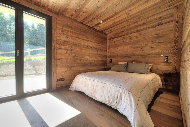 Bedroom of Megeve, Rhones Alps, France