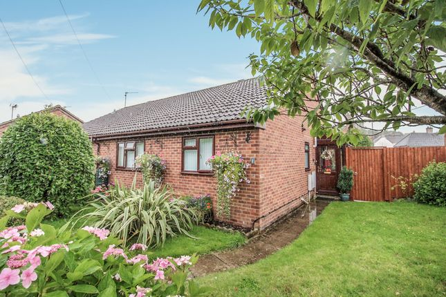 Thumbnail Semi-detached bungalow for sale in Wylye Close, Warminster