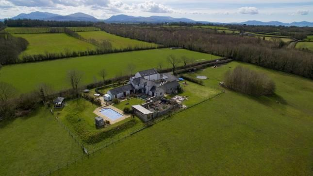 Thumbnail Detached house for sale in Llanedwen, Brynsiencyn, Anglesey, North Wales
