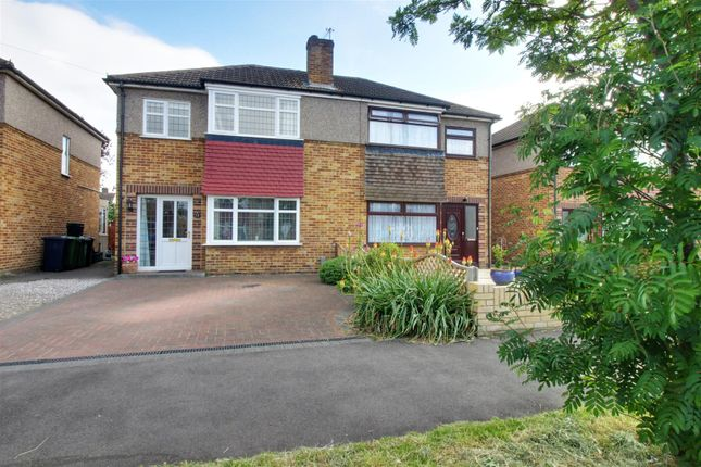 Thumbnail Semi-detached house for sale in Gloucester Avenue, Waltham Cross