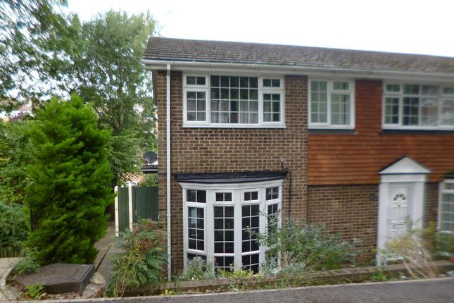 Thumbnail End terrace house to rent in Hook Close, Chatham