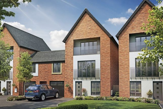 "Thumbnail Town house for sale in ""The Alder"" at Berrington Road, London Road, Hampton"