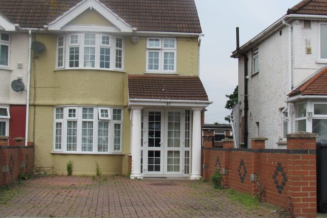 Thumbnail Terraced house to rent in Byron Ave, Cranford