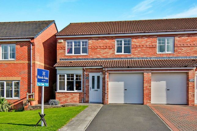 Thumbnail Semi-detached house for sale in Cloverhill Court, Stanley