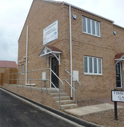 Thumbnail End terrace house to rent in Osborne Residential Park, Osborne Road, Wisbech