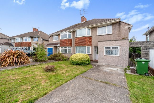 Thumbnail Semi-detached house for sale in Heol Gabriel, Whitchurch, Cardiff