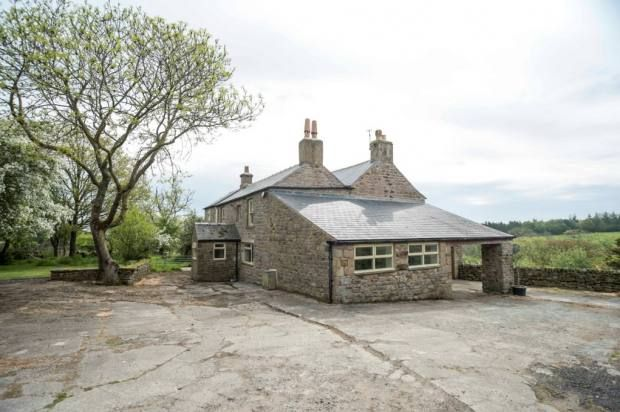 Thumbnail Farmhouse for sale in East Steel Farm, Whitfield, Hexham