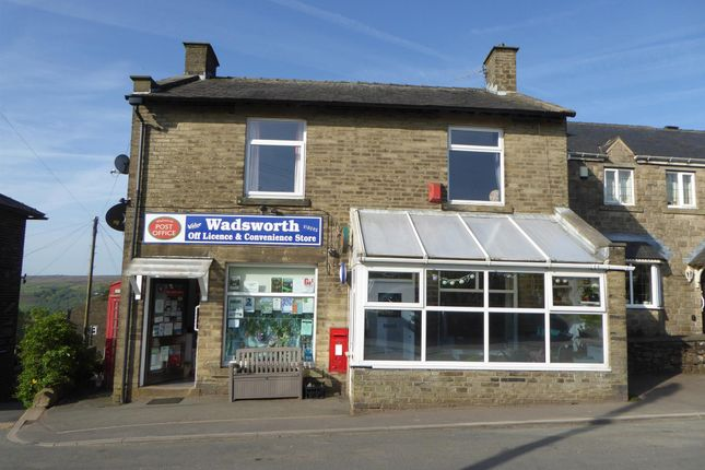 Thumbnail Retail premises for sale in Post Offices HX7, Wadsworth, West Yorkshire