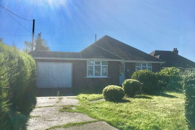 Thumbnail Detached bungalow for sale in Pallance Road, Cowes