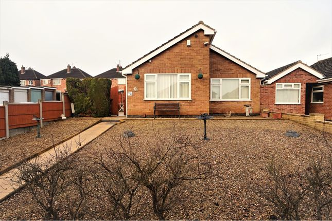 Thumbnail Detached bungalow for sale in Hazelbank Close, Stadium Estate