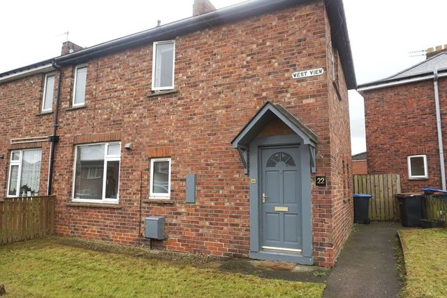 Thumbnail Semi-detached house to rent in West View, Meadowfield, Durham