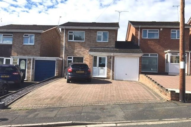 Thumbnail Detached house to rent in Lestock Close, Rugby