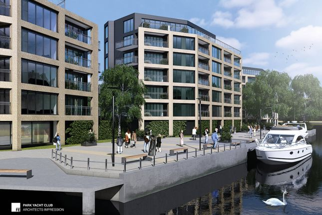 Thumbnail Flat for sale in The Yacht Club, Riverside, Nottingham Waterfront, Trent Lane, Nottingham