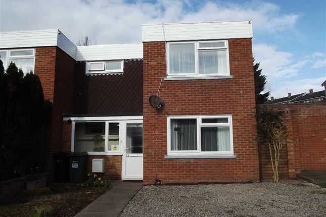 Thumbnail End terrace house for sale in Nursery Road, Ross On Wye, Herefordshire
