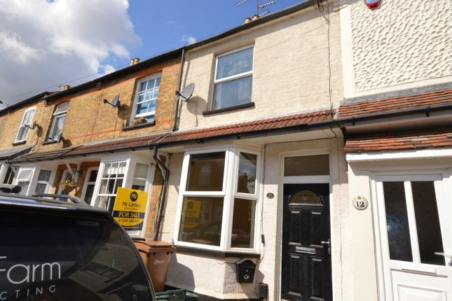 Thumbnail Terraced house for sale in Marlborough Road, Chelmsford