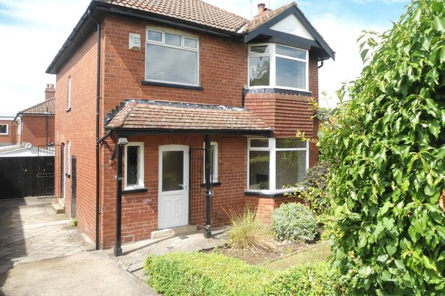 Thumbnail Detached house to rent in Stonegate Road, Meanwood, Leeds