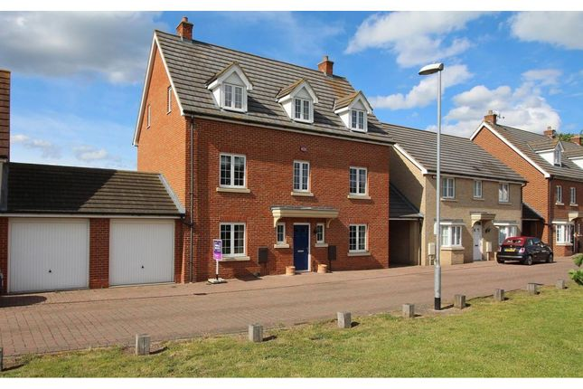 Thumbnail Detached house for sale in Baden Powell Close, Chelmsford