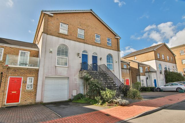 Thumbnail Town house for sale in John Batchelor Way, Penarth