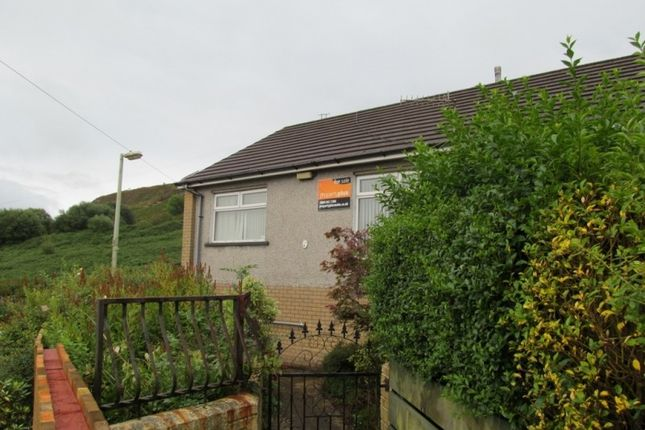 Thumbnail Semi-detached bungalow to rent in Bryn Bedw -, Porth