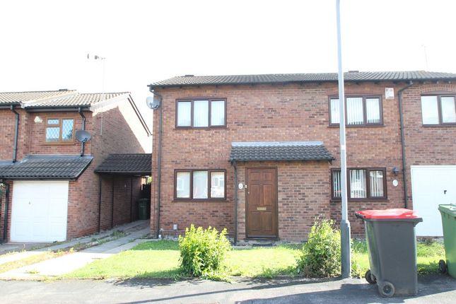 Thumbnail Semi-detached house to rent in Kiln Way, Polesworth, Tamworth