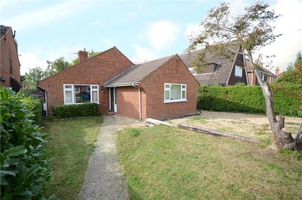 Thumbnail Detached bungalow for sale in Branksome Hill Road, College Town, Sandhurst