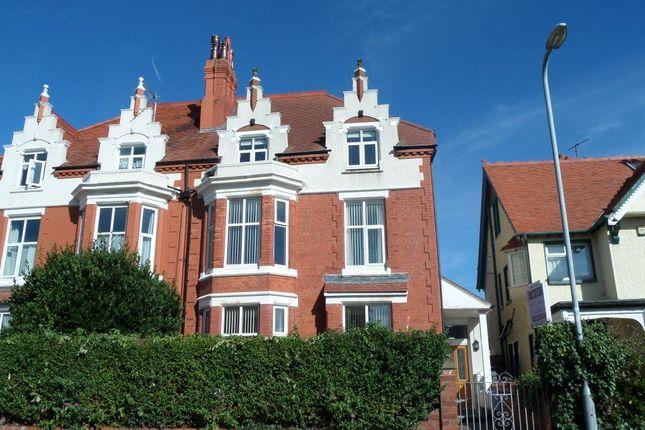Thumbnail Flat to rent in Flat 4, 10 Carmen Sylva Road, Craig Y Don.