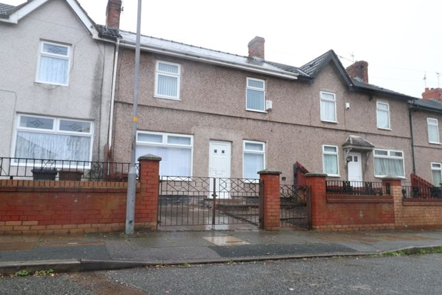Thumbnail Terraced house to rent in Clemmey Drive, Bootle