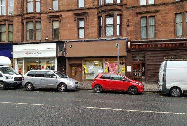 Thumbnail Retail premises to let in Dumbarton Road, Glasgow