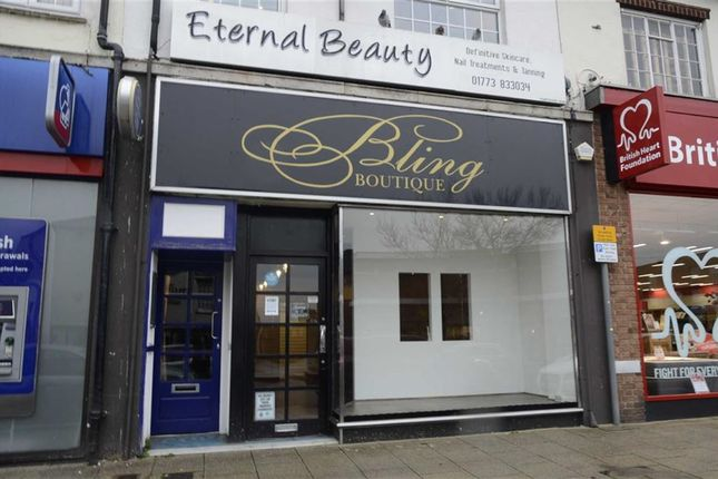 Thumbnail Retail premises to let in High Street, Alfreton, Derbyshire