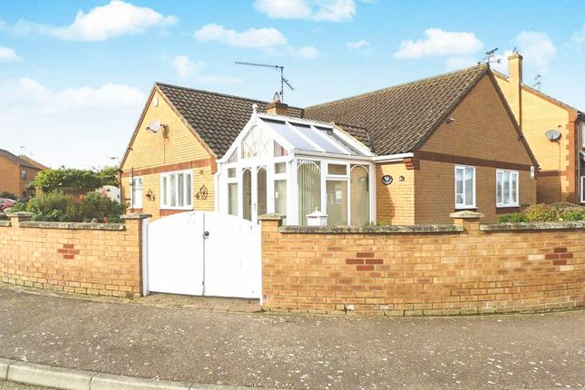 Thumbnail Detached bungalow for sale in Earl Close, Dersingham, King's Lynn