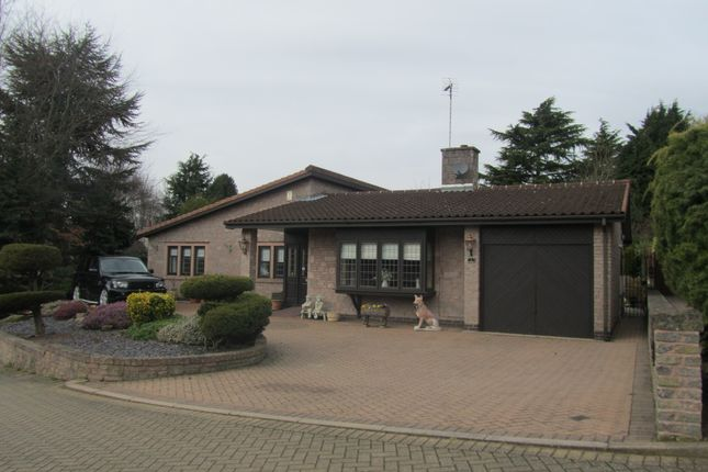 Thumbnail Detached bungalow for sale in Rutherford Glen, Nuneaton, Warwickshire