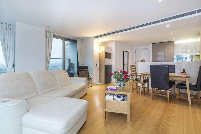 Living Room of Pan Peninsula Square, London E14