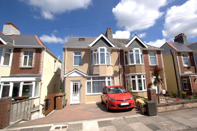 Thumbnail Maisonette to rent in Ladysmith Road, Plymouth
