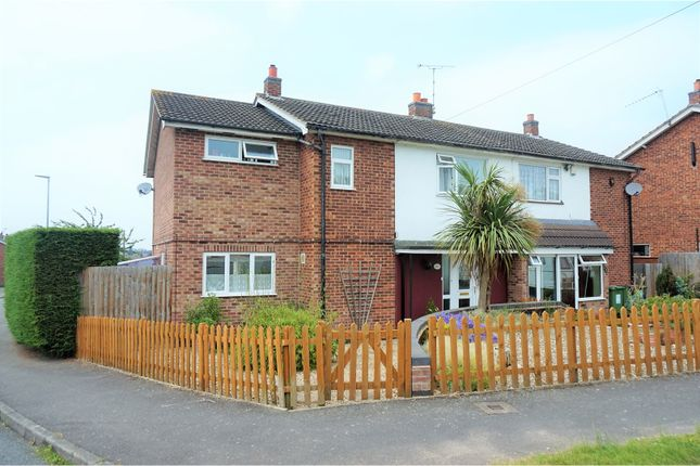 Thumbnail Semi-detached house for sale in Chiltern Avenue, Leicester