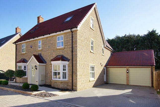 Thumbnail Detached house for sale in Churchill Gardens, Yate, Bristol