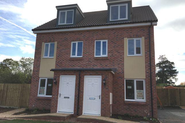3 bed semi-detached house for sale in 26 Beech Road, Cranbrook, Devon