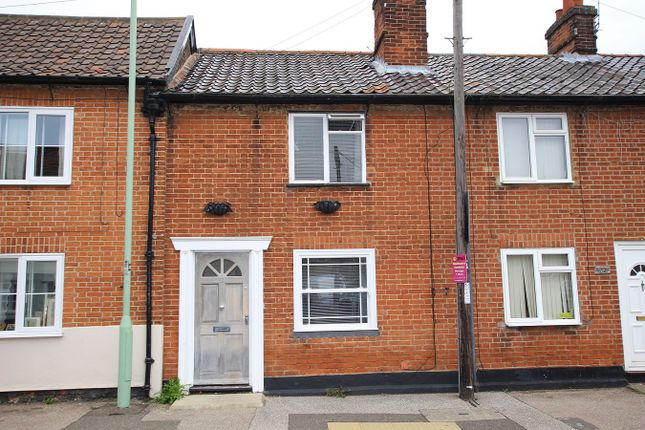 Thumbnail Terraced house for sale in The Street, Bramford, Ipswich, Suffolk