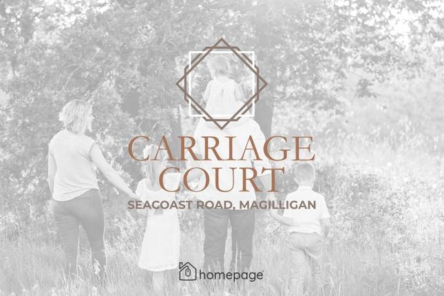 Thumbnail Detached house for sale in New Development - Carriage Court, Magilligan, Limavady