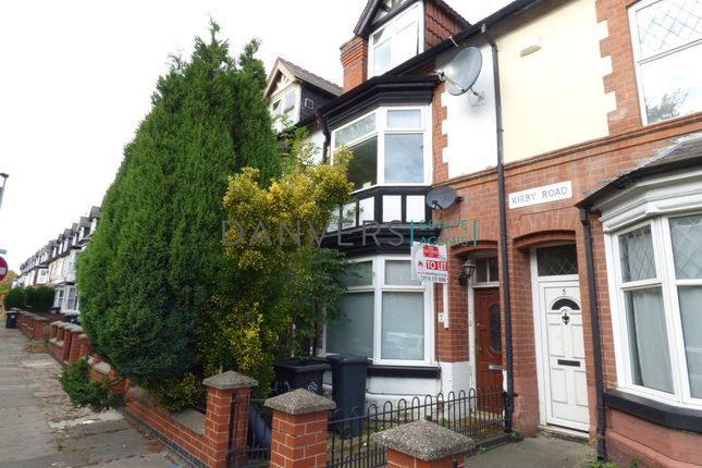 Thumbnail Terraced house for sale in Kirby Road, Leicester